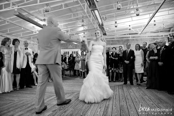 Brea McDonald nantucket wedding photographer wedding shot at the wahwinet working with soiree floral first dance