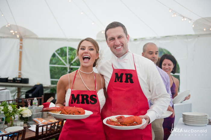 maine lobster bake wedding