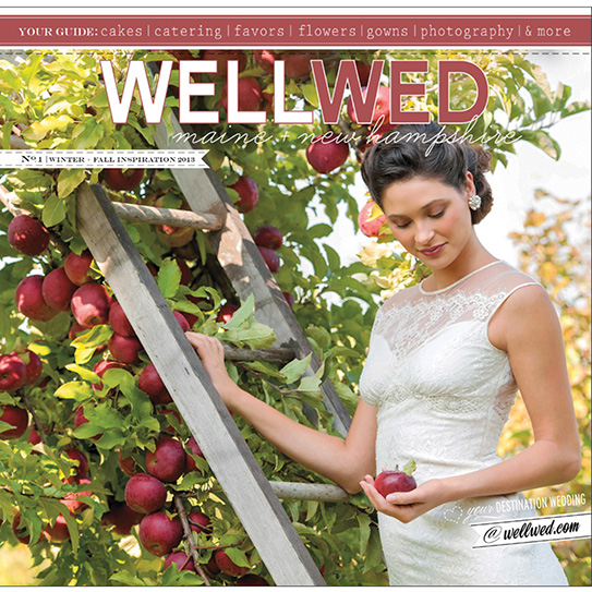 Wellwed magazine maine and new hampshire cover