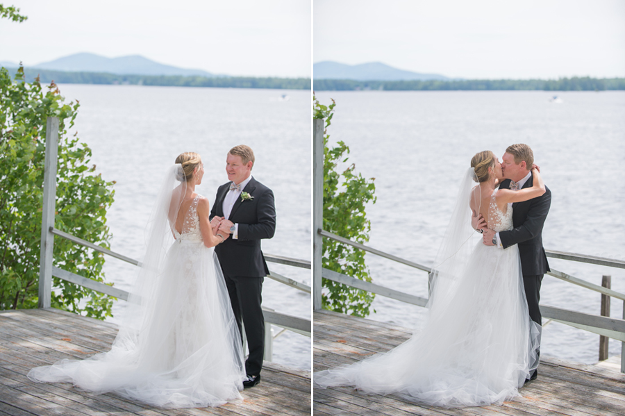 lake winnipesaukee wedding at the bald peak colony club photographed by brea mcdonald photography lakeside new hampshire wedding