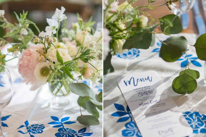 Coastal Maine Wedding Reception