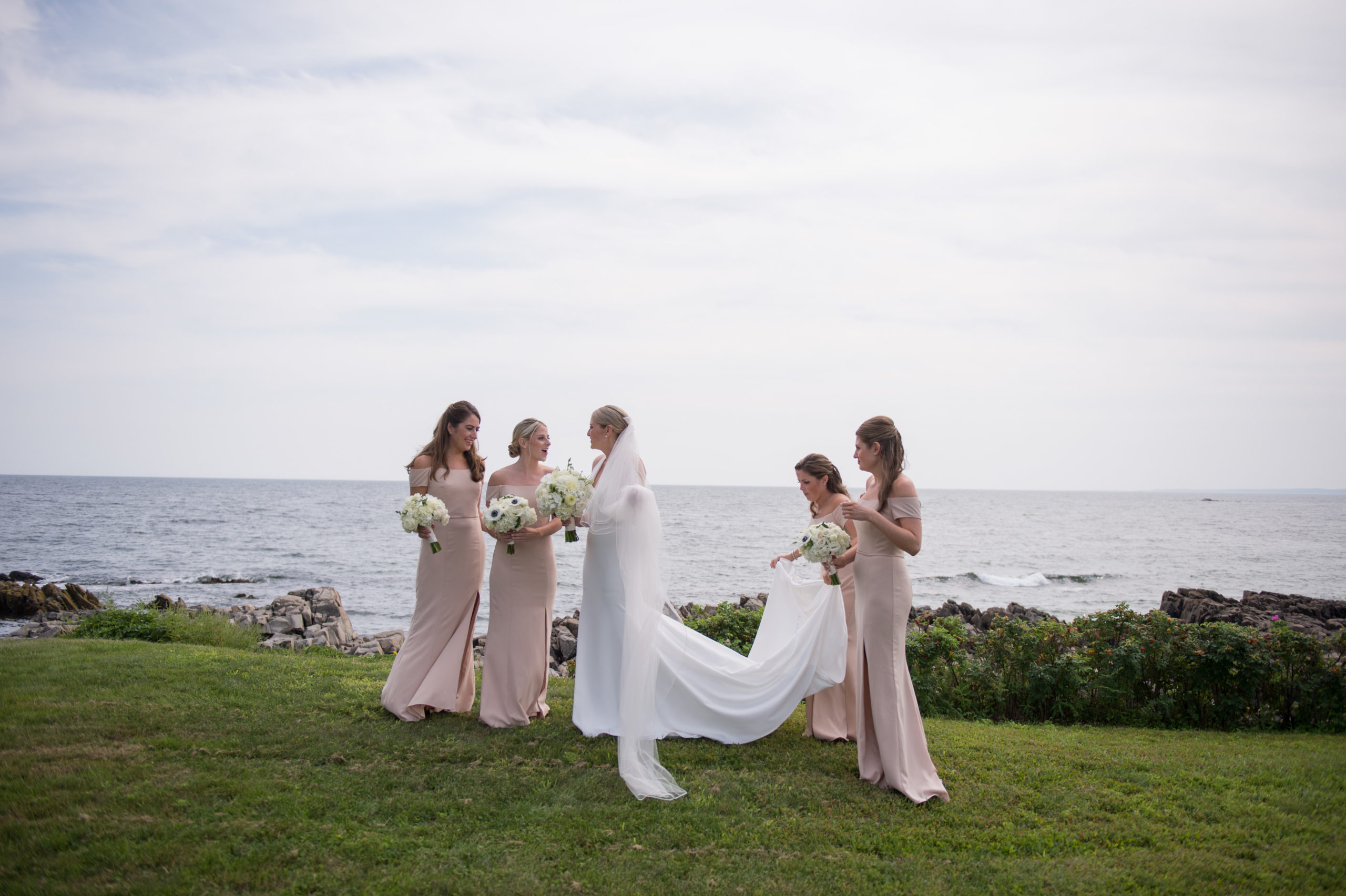 coastal maine wedding photographer