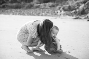 York Maine family beach portrait photographer