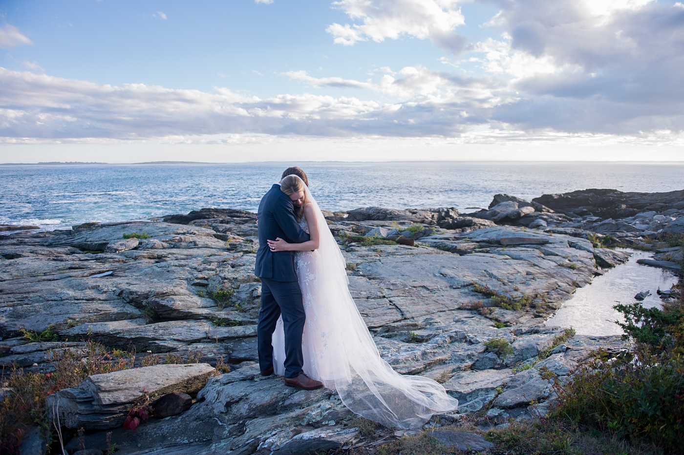 romantic maine wedding photographer brea mcdonald photography
