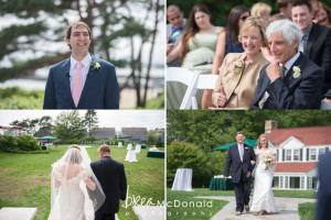 colony hotel kennebunkport maine wedding with wedding photographer Brea Mcdonald of Brea McDonald Photography maine coastal wedding seaside wedding portraits wedding floral by fleurant design wedding videography by matt forcer of LMV Productions outdoor wedding ceremony