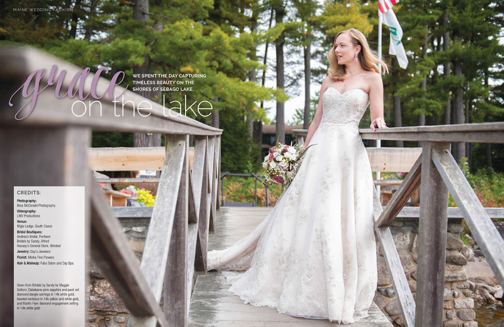 migis lodge wedding photographer, maine wedding photographer, maine lake wedding, maine bridal gowns, real maine weddings