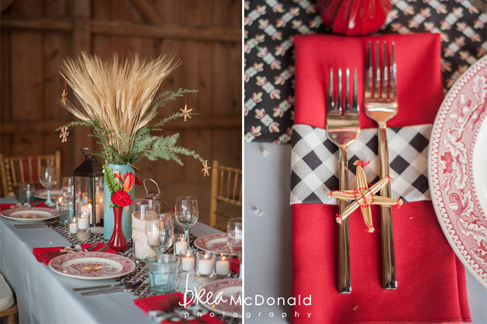 nordic winter wedding inspiration photoshoot photographed by new england wedding photographer brea mcdonald of brea mcdonald photography with design by meagan gilpatrick of maine seasons events photo shoot took place at the barn at flanagans farm in buxton maine