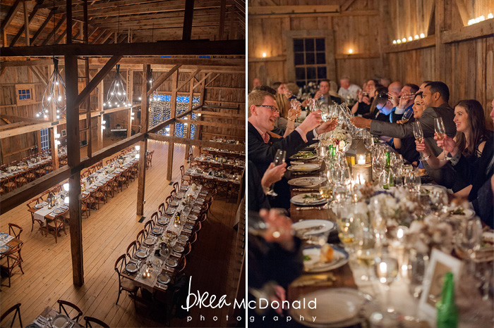 barn at flanagans farm wedding photographed by brea mcdonald photography in buxton maine rustic chic maine fall wedding new england fall wedding real wedding featured in the knot