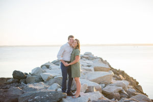 prouts neck maine engagement session photographed by brea mcdonald photography coastal maine wedding coastal new england wedding