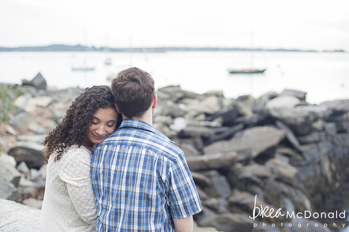portland maine engagement session photographed by associate photographer jordan moody for brea mcdonald photography