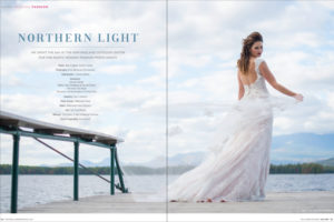 Maine wedding feature in real maine weddings magazine photographed by Brea McDonald Photography Maine wedding lakeside maine wedding