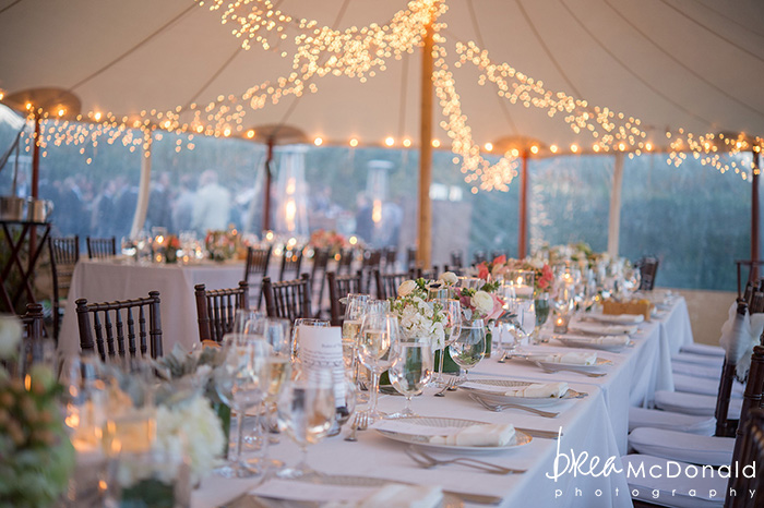wedding at the westmoor club in nantucket massachusetts with wedding photographer brea mcdonald of brea mcdonald photography outdoor ceremony country club reception floral design by soiree floral beach portraits couple portraits new england coastal weddings